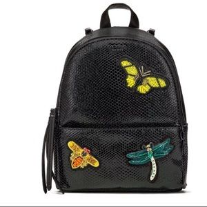 VS hot tropic sequin dragonfly patch mini backpack